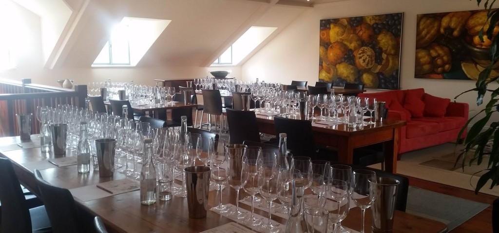 Hahndorf Hill Gruner Veltliner tasting Oct 2015