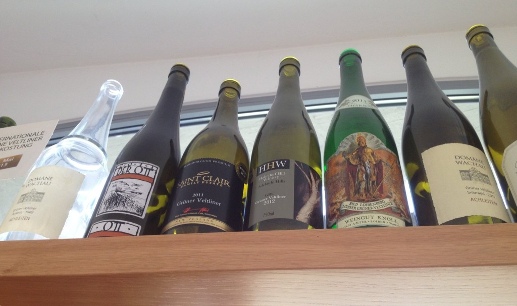 Domain Wachau's trophy shelf
